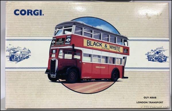 CORGI 97203 GUY ARAB 2 UTILITY - London Transport Route 145 * PRE OWNED *